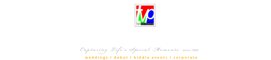 Tony's Video Productions